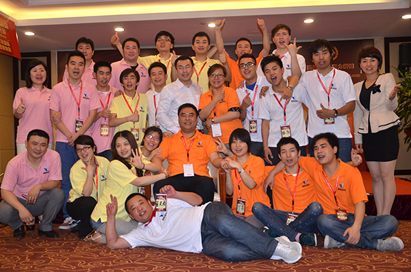 Jury, 26th, 2013 YSE company staffs attended 《cohesion》outward bound.