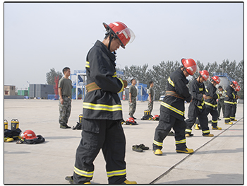 Shanghai Fire Interns